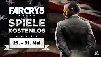 Far Cry 5 (PC Uplay) gratis Weekend bis und mit Sonntag