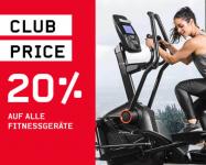 20% Rabatt auf Fitnessgeräte bei Ochsner Sport + 20.- Newsletter-Gutschein
