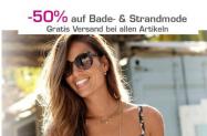 Jelmoli-Shop: 50% Rabatt auf Bade- und Strandmode