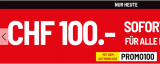 Conforama: 100.- Rabatt für alle Einkäufe ab 500.- (nur heute)
