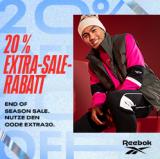 Reebok: 20% zusätzlich auf alle SALE Artikel