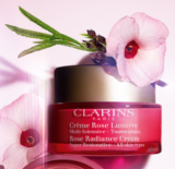 Gratismuster Clarins Rose Lumière bei Import Parfumerie
