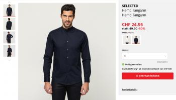 Manor SALE: Diverse Hemden und Pullover zu guten Preisen (ab CHF 19.95)