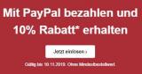 10% auf alles bei Bon Prix (Bezahlung mit PayPal)