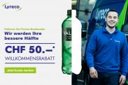 Lyreco: 'Bessere Hälfte' Aktion für Firmen-Neukunden – 50 Franken ab MBW 100 Franken geschenkt