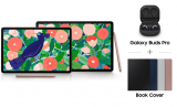 Samsung Galaxy Tab S7 / S7+ Promotion: Galaxy Buds Pro + Book Cover geschenkt