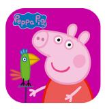 Peppa Pig: Polly Papagei Kinder-App für iOS und Android zur Zeit gratis