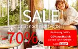 La Redoute SALE: 15-20% zusätzlicher Rabatt auf reduzierte Artikel beim Kauf von 3/4 Artikeln