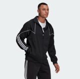 BIG TREFOIL ABSTRACT POLYESTER TRACK TOP bei Adidas