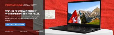 Verlängerung – 1. August-Sale im Lenovo Shop