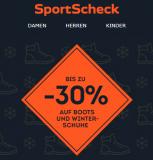 Bis zu 30% auf Winterschuhe und Boots bei Sport Scheck