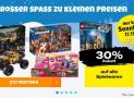 30% auf alle Spielwaren bei Coop Bau+Hobby (17.11.)