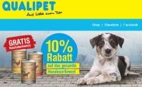 10% auf alle Hunde-Artikel bei Qualipet