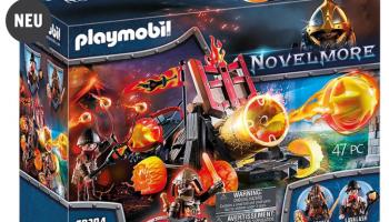 PLAYMOBIL Novelmore Burnham Raiders Lavabombarde bei meinspielzeug.ch