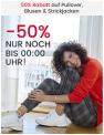 50% Rabatt auf Pullover, Blusen und Strickjacken bei Ackermann (Nur bis Mitternacht!)