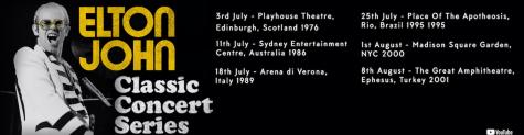 Elton John – Classic Concert Series – 6 Konzerte auf Youtube