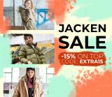 15% Extra auf Jacken (sogar Sale Artikel) bei Blue Tomato