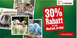 30% auf alle Non-Food-Artikel bei Fressnapf (17.11.)