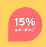 Tchibo: 15% Rabatt auf alles (inkl. SALE)
