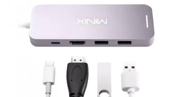 MINIX NEO M2 SSD 256GB Multiport-Adapter bei Mediamarkt