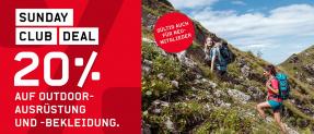Ochsner Sport:  20% Rabatt auf alle nicht reduzierte Outdoor-Ausrüstung und -Bekleidung