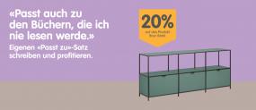 MICASA – 20% auf das Produkt Ihrer Wahl