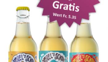 Rio Getränkemarkt: 3 Glasflaschen Samuel's Schorle gratis für NL-Abonnenten