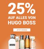 25% auf Hugo Boss Produkte bei Import Parfumerie