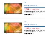 Samsung 75″ und 85″ in Aktion