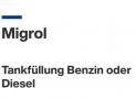 Migrol 5 Rappen pro Liter Gutschein Juli 2021 (an ausgewählten Tankstellen)