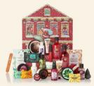 The Body Shop Adventskalender Deluxe 2019 + gratis Necessaire