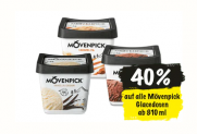 Nur heute: 40% Rabatt auf alle Glacédosen ab 810ml von Mövenpick ab 11.3. bei Coop