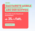 Wingo Fair Flat: Neu mit 2GB gratis Daten im Ausland + 2GB Daten in der CH (statt erste 2GB insgesamt gratis)