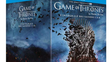 Game of Thrones Blu-Ray Staffel 1-8 (Englische Tonspur!)
