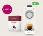 Delizio Una Automatic Kapselmaschinen + 48 Kapseln Espresso oder Lungo