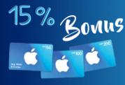 15% mehr iTunes Guthaben bei ALDI