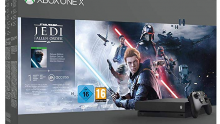 MICROSOFT Xbox One X Star Wars: Jedi Fallen Order Bundle 1 TB (DE, FR, IT, EN)
