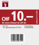 Neuer Otto's Gutschein (10.- ab MBW 60.-)
