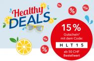 15 % ab CHF 50.- ShopApotheke (bis 09.05.)