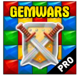 Gemwars PRO gratis im Google Playstore (Android)