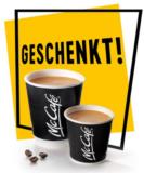 Gratis Café Crème oder Espresso bei McDonald's