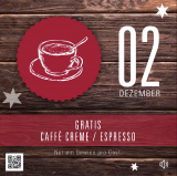 Cafe Creme oder Espresso bei spiga