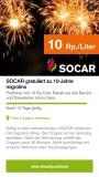 SOCAR 10Rp/Liter bei migrolino