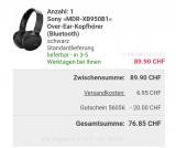 Sony MDR-XB950B1 BT (nur Neukunden) bei Quelle Versand
