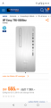 HP Envy 795-0506nz  Desktop (nur noch in wenigen Filialen erhältlich)