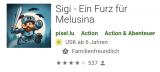 Sigi – Ein Furz für Melusina gratis statt 2.-  (Android/iOS)