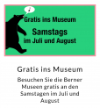 Gratis ins Museum am Samstag in Bern