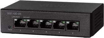 Cisco SG110D-05 Gigabit Desktop-Switch mit 5 Ports (SG110D-05-EU) für CHF 23.20 bei Amazon.de