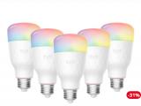 Yeelight Smart LED Lampe 1S (Color) 5 Stück bei Brack.ch