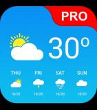 Gratis Wetter App Pro für Android